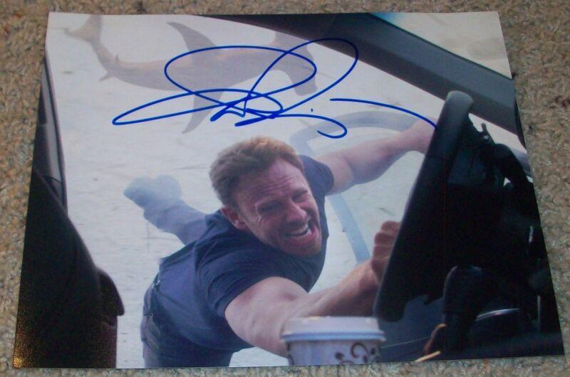 IAN ZIERING SIGNED AUTOGRAPH SHARKNADO 8x10 PHOTO w/PROOF BEVERLY HILLS 90210