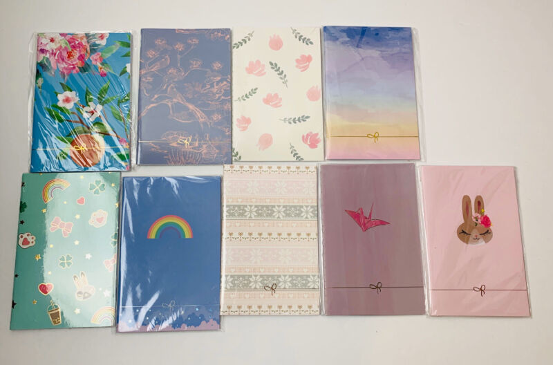 Simply Gilded Pocket Size Travelers Notebooks Lot Of 9