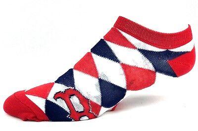 - Boston Red Sox Baseball Ladies Diamond Ankle Socks Navy Red White One Size