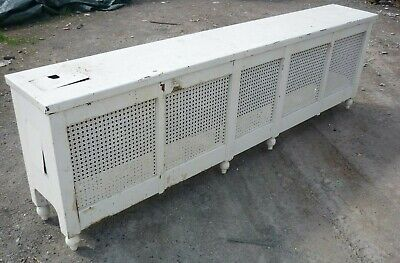 Vintage Radiator Cover Bench style 78