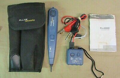 Fluke Networks Pro3000 26100-900 Tone Generator And Probe Kit Case 26200-900