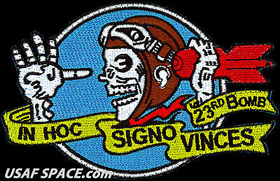 """USAF 23rd EXPEDITIONARY BOMB SQ -B-52 Stratofortress-Minot AFB-5"""" ORIGINAL PATCH for sale  Fullerton"""