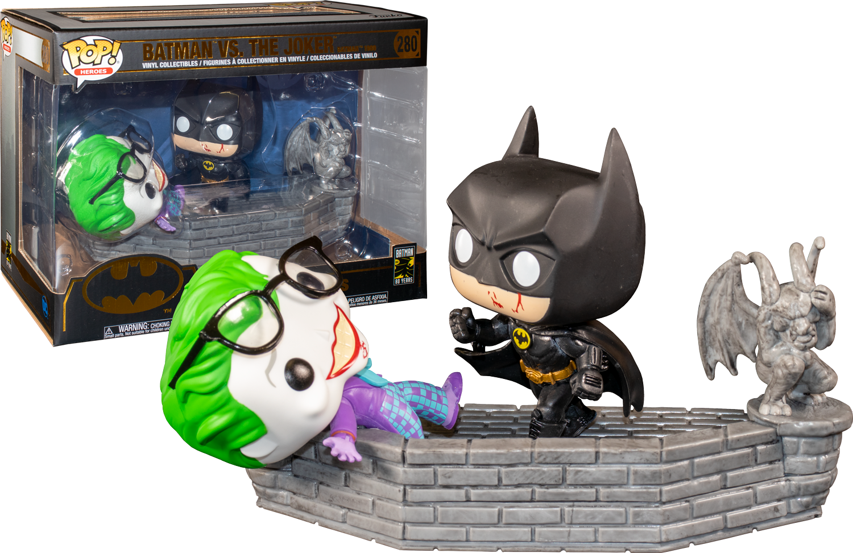 Momento Pop Movie-Batman 80th-BATMAN /& Joker Figura in vinile