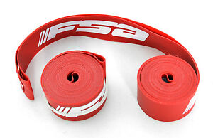 NEW SET FSA ROAD BIKE RIM TAPE (X2) CX BICYCLE RIM STRIPS PAIR 700 c 17 mm