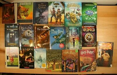 FANTASY & SCIENCE FICTION Books For Children! Harry Potter, 39 Clues! Lot of 19!