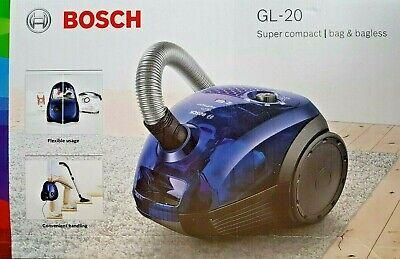 BOSCH Boden Staubsauger BGN2A3028 GL-20 bag&bagless - Blau Bagless Staubsauger