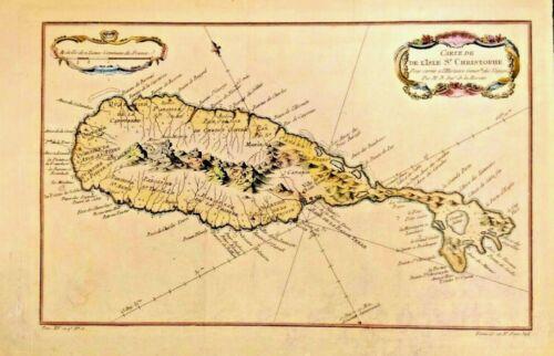 RARE Map of Carte de De L