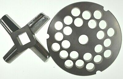 32 X 12 Stainless Meat Grinder Plate Heavy Duty Knife For Hobart Biro