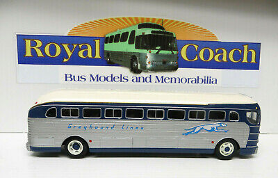 Vector Models Greyhound PD-4151 Silversides 1:43 Scale with Original Box