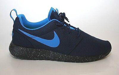 NEW Nike iD CUSTOM Roshe One Essential Lightweight Shoes  943711 991 Blue 10.5