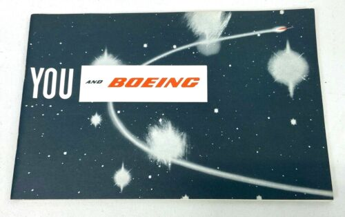 1961 Boeing Company Brochure Booklet