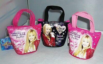 3 pcs Hannah Montana Cute Hand Bag Purse Special Girl's Birthday Gift Hannah Montana Purse Handbag