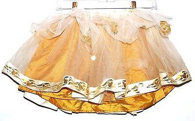 Disney Cruise Line Fantasy Mickey Tutu Gold Ballerina Tulle Skirt Med Dress Up](Dress Up Mickey)