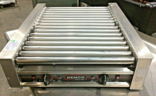 Nemco 8045N Hot Dog Roller Grill Electric
