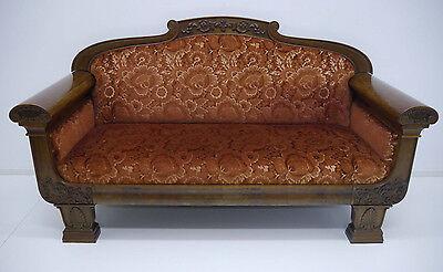 Biedermeier Sofa - Mahagoni - um 1820