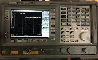 Hpagilent E4402b W 3ghz Tracking Generator - Esa-e 3ghz Spectrum Analyzer 1