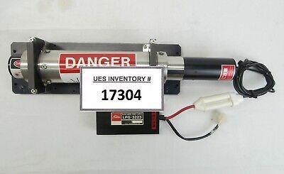 Toshiba Lgk-7628jh He-ne 632.8nm Laser With Power Supply Lpg-3223 Horiba Pd-201a