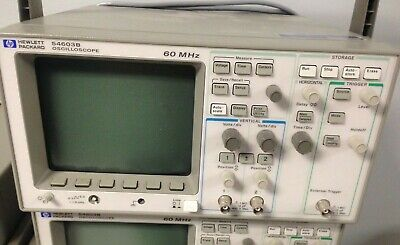 Hewlett Packard Model 54603b Oscilloscope 60mhz