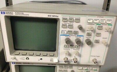 Hewlett Packard Model 54603b Oscilloscope 60mhz