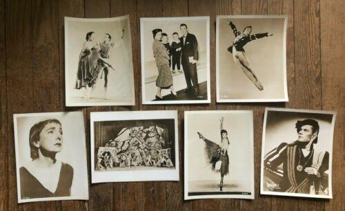 7 photo Chicago Opera Ballet 1956 Signed Marjorie Tallchief, Skibine, Arova Page