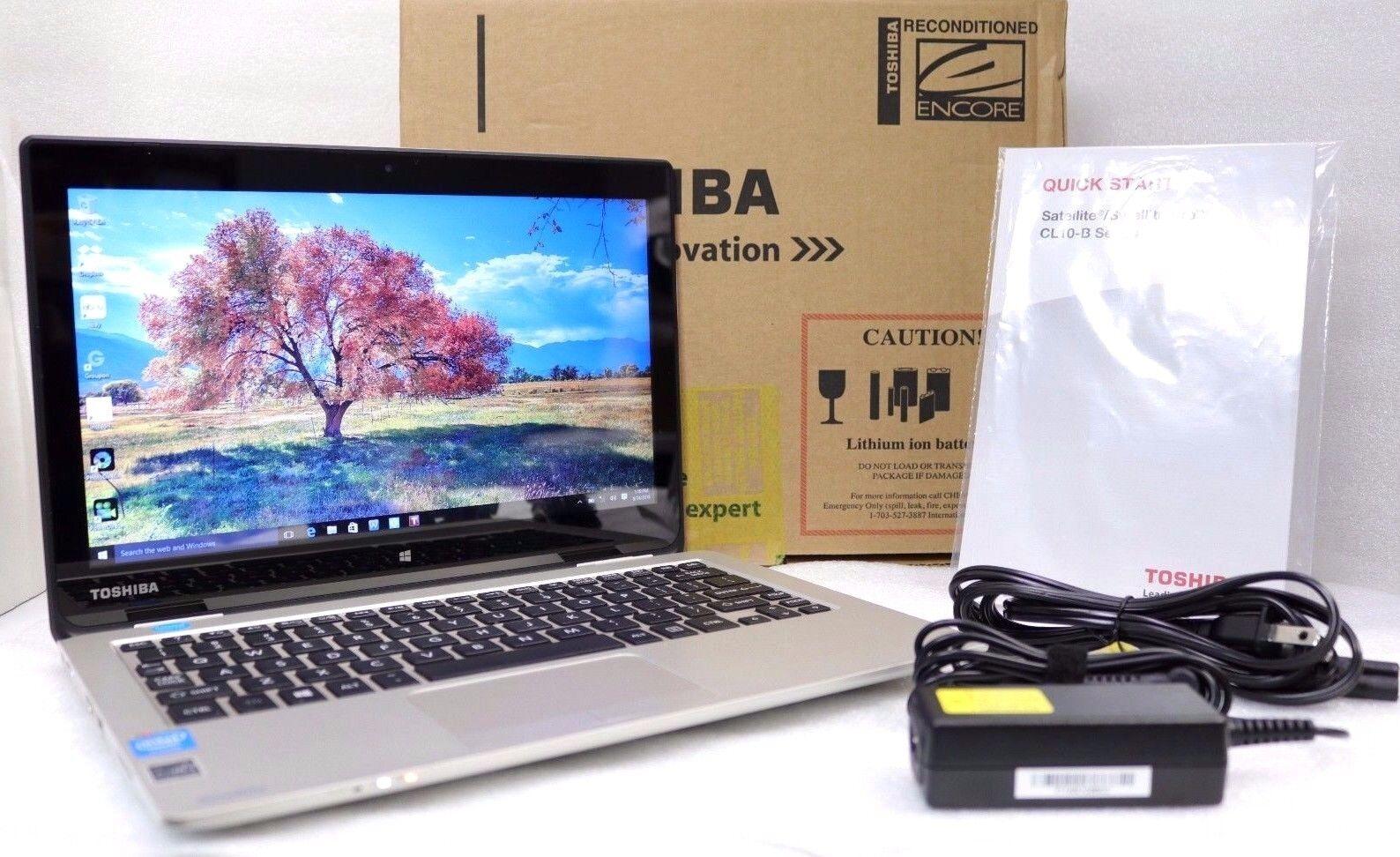 "Toshiba Satellite CL15T-B1204X 11.6"" Intel Celeron 2GB | 32GB Touch Laptop"