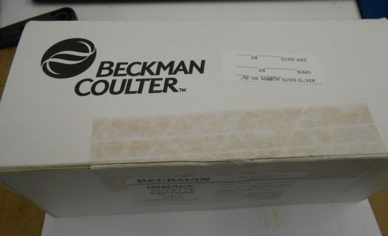 BECKMAN COULTER IMMAGE CUVETTE SECTORS 470706 QTY: 13