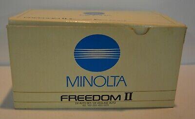 Minolta Freedom II Point and Shoot Film Camera