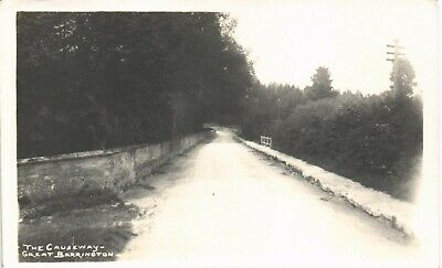 Great Barrington near Burford. The Causeway by Frank Packer.