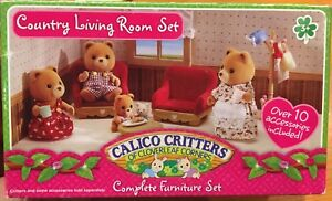 Calico Critters County Living Room set