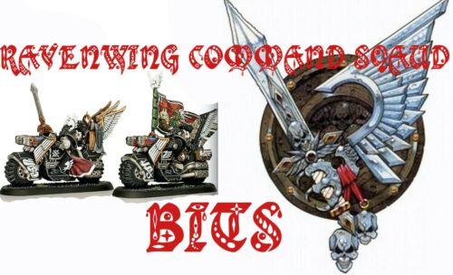 GW Warhammer 40K Dark Angel RAVENWING COMMAND SQUAD KNIGHTS APOTHECARY Bits BIT
