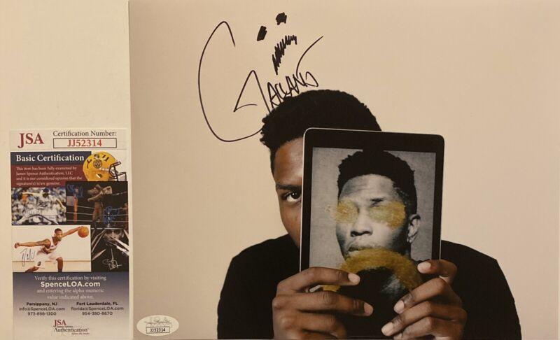 Gallant Signed 8x10 Photo Autographed Singer Ology Sweet Insomnia JSA COA