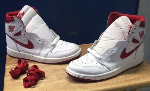 Air Jordan 1 Retro High OG 'Metallic Red' 555088-103 Size 9