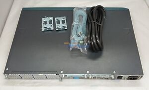 CISCO CISCO2611XM ROUTER WITH RACK-MOUNT, CONSOLE CABLE, AND POWER CORD 90 DAYS