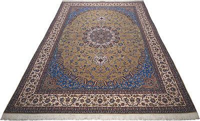 Isfahan Teppich Orientteppich Rug Carpet Tapis Tapijt Tappeto Alfombra Übermaß