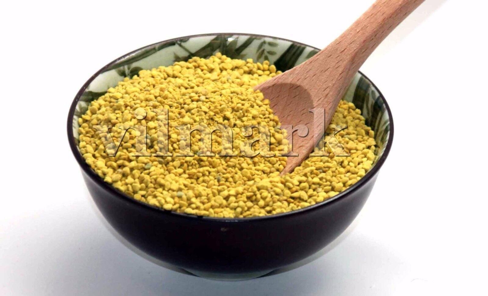 BEE POLLEN Pure Organic Bee Pollen Granules 3 oz FDA Certified