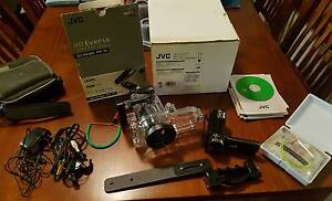 Under water marine case and JVC HD Everio Camera Davoren Park Playford Area Preview