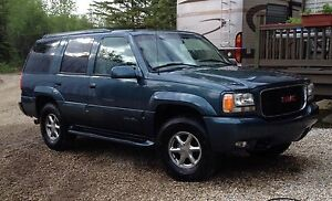 1999 Yukon Denali Rare rear barn doors