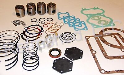 Quincy 340 Pump Tune Up Kit Replacement Valve Set Air Compressor Parts Roc 29-up