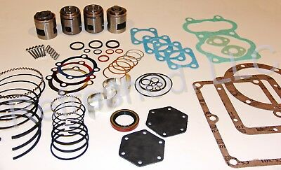 Quincy 340 Pump Tune Up Kit Replacement Valve Set Air Compressor Parts Roc 29-up