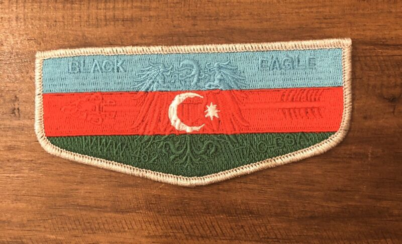 Black Eagle Lodge 482 Azerbaijan Country Flap / Transatlantic Council