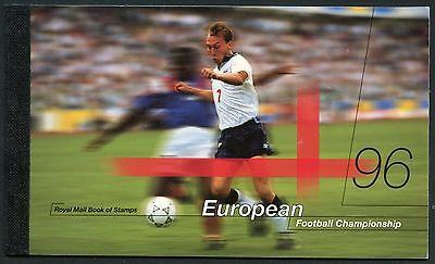 GREAT BRITAIN COMPLETE PRESTIGE BOOKLET '96 EUROPEAN FOOTBALL CHAMPIONSHIP  NH