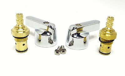 Perlick Replacement Valves Handles Kit For 1 34 Spread Faucet 43146 43714