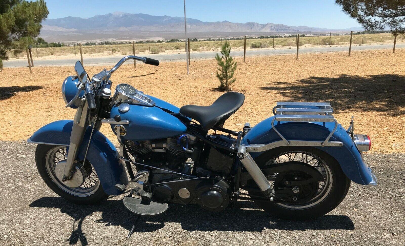 1951 FL Harley-Davidson Panhead 74ci