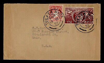 DR WHO 1952 IRELAND TULACH MHOR TO USA  g19752