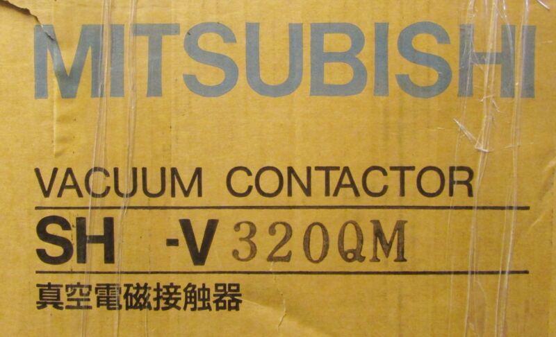 MITSUBISHI 200-1500V 320 Amp 3 Pole 110-127V Vacuum Contactor SH V320 QM