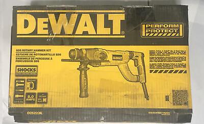 Dewalt D25223k Rotary Hammer Kit 1 In Keylesssds Chuck 4300 Bpm 1150 Rpm No