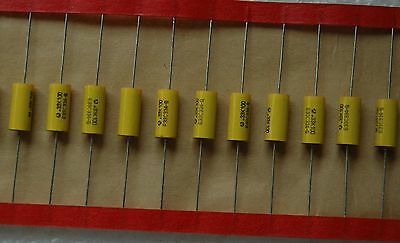 20 Pcs 100v 0.33uf 0.33mfd Metallized Polyester Capacitor