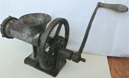 Very Rare Landers, Frary, & Clark, Universal No. 344 Meat  Food Chopper 1890