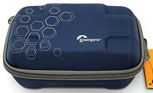 NEW Lowepro Dashpoint AVC 1 Hard Shell Case BLUE GoPro Action Video Camera Bag