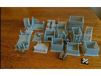 Adeptus Titanicus Dystopian Wars *SCENERY* 16 buildings Epic Battletech